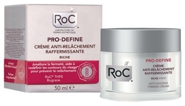 Roc Roc Pro Define Sıkılaştırıcı Yoğun Bakım Kremi 50 ml Renksiz